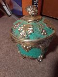 Beautiful vintage home decor container