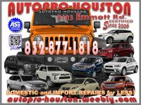 Dodge Maintenance and Repair @ AutoPRO-Houston
