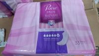 Poise pads and. Bed liners