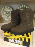 Boys youth boots size 5. Brazos Work Force, Wellington Brown. EUC only worn once or twice!