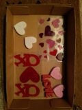 Valentine's day clings and decor