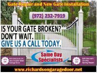 Get Quality work only on starting $26.95 | Gate Repair in Richardson, TX