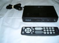 RCA digital converter box with remote.