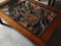 WILD WINGS COFFE TABLE AND END TABLE