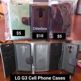 Three LG G3 Cell Phone Cases
