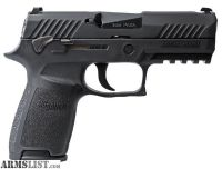 For Sale: SIG SAUER P320 Compact / Manual Safety