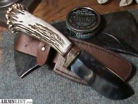 For Sale: Forged Heavy Skinning Knife