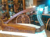 19 string lap harp brand new. Comes with instructions and leather bag $150.00