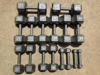 Gym Equipment Weider Hex Dumbbell Weight Set