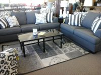 Loveseat, Sofa,end tables, coffee and lamps