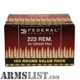 For Sale: 800 rounds of American Eagle 223s load BP223BL