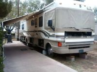 Trade for home and land .Motor home bouncer 34 long