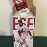 Cardinal bobble head w/game day ticket