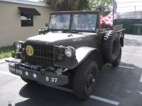 1962 dodge M37 Military Pickup truck