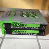 Camry Manuals (3) with notes from certified mechanic