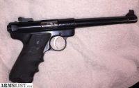 For Sale: Ruger Mark II Target