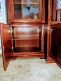 3-Piece Set TV Armoire In Cherry Finish