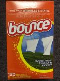 Bounce outdoor fresh dryer sheets 120 sheets