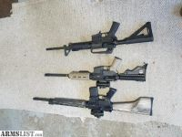 For Sale: 2 AR 15s for sale 9mm/5.56