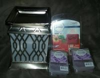 $10 Firm Brandnew Wax warmer without box & 3 new bars wax melts price is for ppu