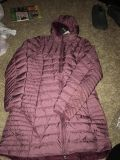 Brand New Eddie Bauer Long Puffer Coat- Size Large