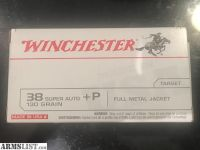 For Sale: 38 Super Auto +P ammo