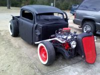 1949 ford rat rod truck,chopped and channeled