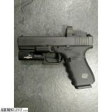 For Sale: GLOCK 19 GEN4 MOS W/BURRIS RED DOT SIGHT AND SUREFIRE XC1 LIGHT