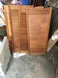 2 sets of shutters