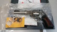 "For Sale: RUGER SUPER REDHAWK 10MM 6.5"" SS AS NIB"