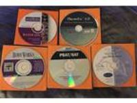 Educational Lot of 5 CD-ROM, SAT, Physiology, Algebra