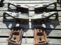 Parts For Sale: 70 Chevelle rear bumper brackets.