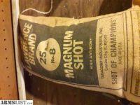 For Sale: Lead shot 25 lb bags