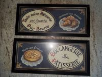 2 Framed French artwork for the kitchen