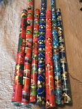 Kid Christmas Wrapping Paper