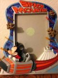 Mickey Mouse Space Mountain Picture Frame