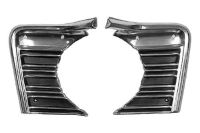 Purchase Goodmark GMK403105667P - 1967 Chevy Chevelle Grille Moulding Body Part motorcycle in Tampa, Florida, US, for US $87.00