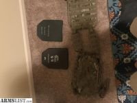 For Sale/Trade: OCP Plate Carrier with Plates