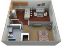 Timber Ridge Apartments - One BR, One BA