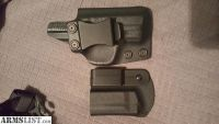 For Sale: S&W Shield kydex holster