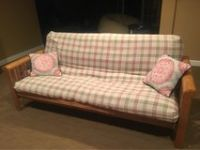 Good Condition Wood Futon-Full Size