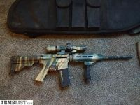 For Sale: Custom AR-15 with SF detailing