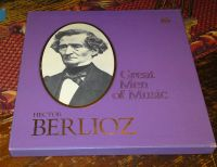 Hector Berlioz Time Life Great Men of Music 4 Album Box Set with Booklet
