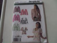 Simplicity 4182 womens jacket size 14, 16, 18, 20