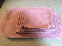 New Four placemats and four napkins in Dusty Rise color