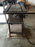 Vintage craftsman table saw (3/4hp 8in blade) works great