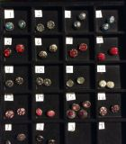 NEW, SNAPS FOR INTERCHANGEABLE JEWELRY, FITS GINGERSNAPS BRAND, Sets of Mini Snaps / MULTI