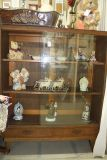 Antique English book shelf with sliding doors - Reduced