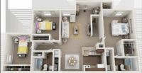3 Beds - Chase Run Apartments