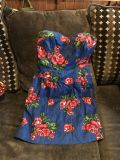 Adorable cute strapless dress NEW
